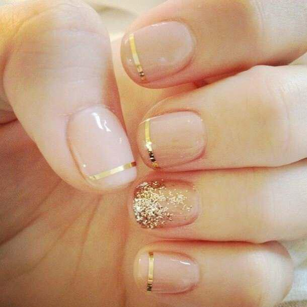 trends in nails for brides 1 - Αυτές είναι οι τάσεις στα νύχια για νύφες!