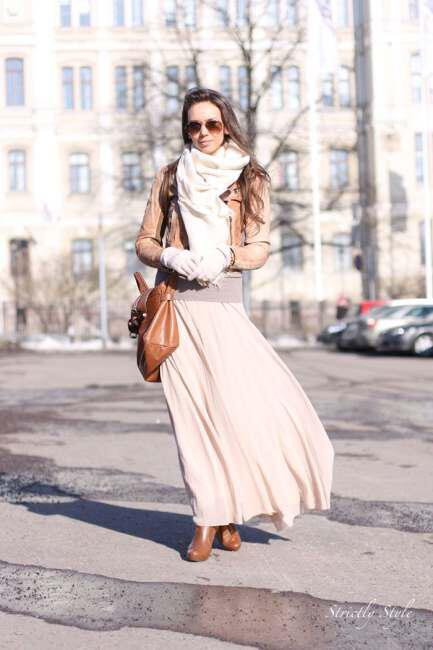 Wear maxi skirts this winter 2 - Φορέστε maxi φούστες φέτος το χειμώνα