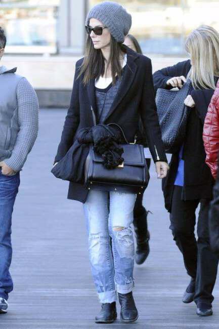 casual style of Sandra Bullock 5 - Το casual style της Sandra Bullock