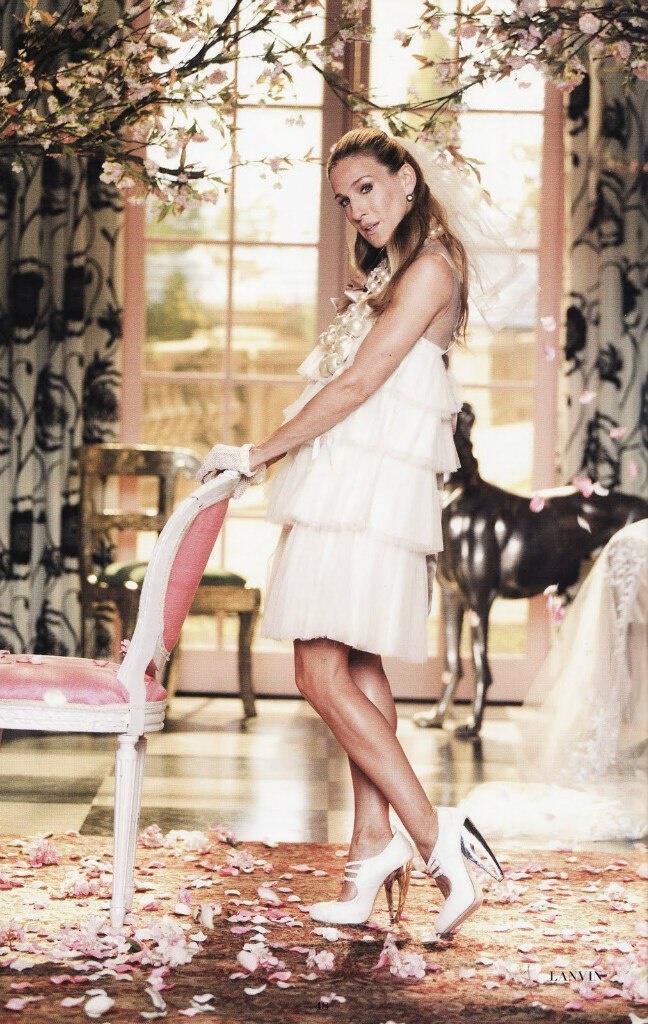 empnefsou apo ta nifika tis carrie bradshaw4 - Εμπνεύσου από τα νυφικά της Carrie Bradshaw