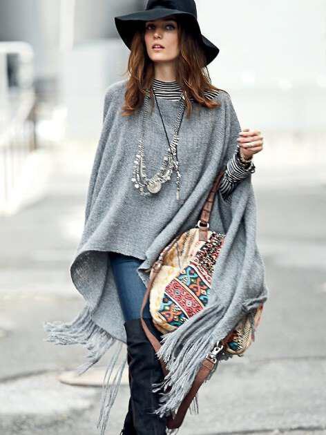 kimono is the winter poncho 6 - Tο κιμονό του χειμώνα είναι το poncho!