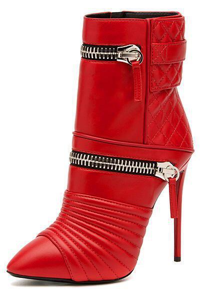 fermouar dini stil sta papoutsia2 - Το φερμουάρ δίνει στιλ στα παπούτσια