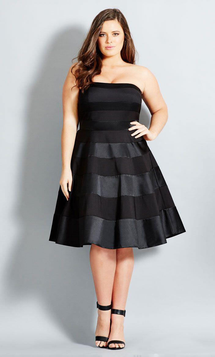 06ded5a976aa Το ιδανικό black dress για γυναίκες με καμπύλες ...