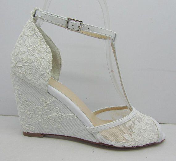 Νυφικά παπούτσια με δαντέλα - Page 5 of 6 - dona.gr 81017308fbc