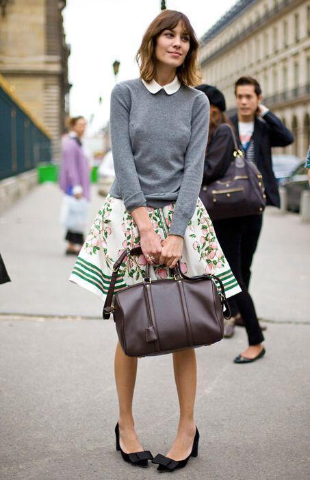 ta poulover ton street style fashionistas3 - Τα πουλόβερ των street style fashionistas