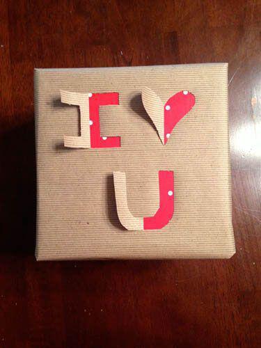 Cr ez votre propre papier cadeau pour la st valentin - Emballage cadeau saint valentin ...