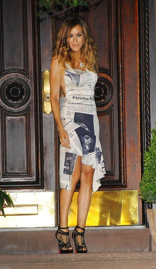 goves tis carrie bradshaw4 The heels of Carrie Bradshaw