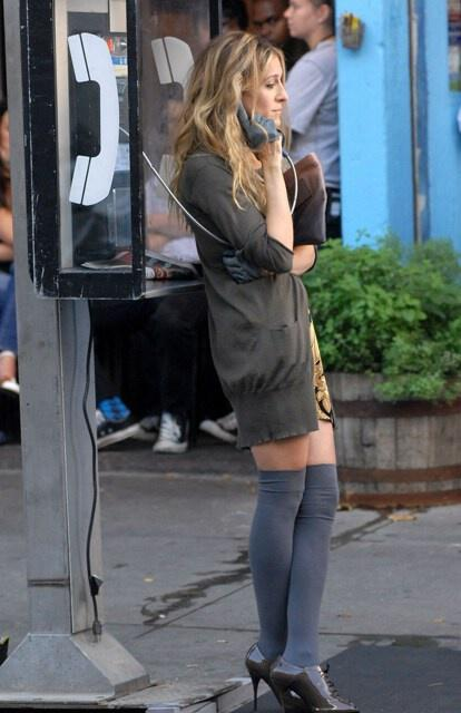 goves tis carrie bradshaw5 The heels of Carrie Bradshaw