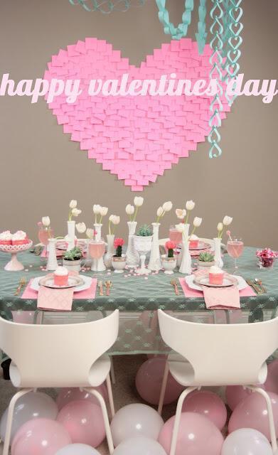 mikres leptomeries gia giortino trapezi tou agiou valentinou5 Small details for festive table Valentines day