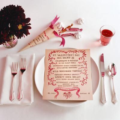 mikres leptomeries gia giortino trapezi tou agiou valentinou6 Small details for festive table Valentines day