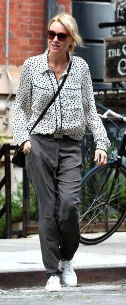 super chic street style tis naomi watts4 super chic street style of Naomi Watts