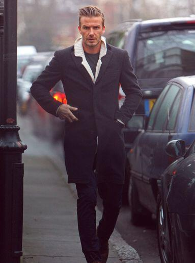 To Fashionable Street Style David Beckham