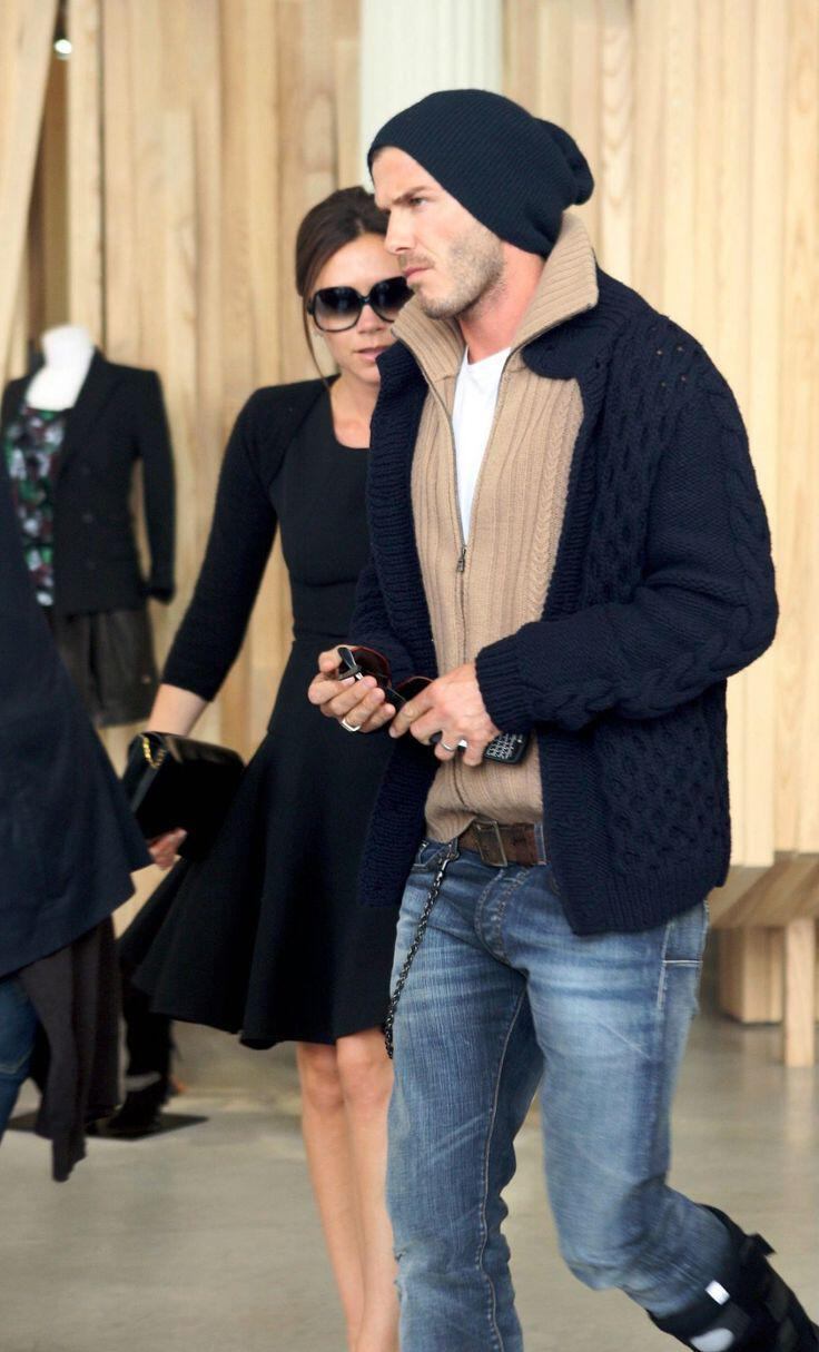 To Fashionable Street Style David Beckham Page 5 Of 6