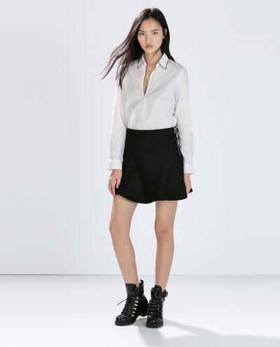 6c33a3b377f Υπέροχες φούστες από το Zara για την Άνοιξη 2015