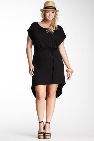 Καθημερινά μαύρα φορέματα για γυναίκες με παραπάνω κιλά - dona.gr 3100529fdb8