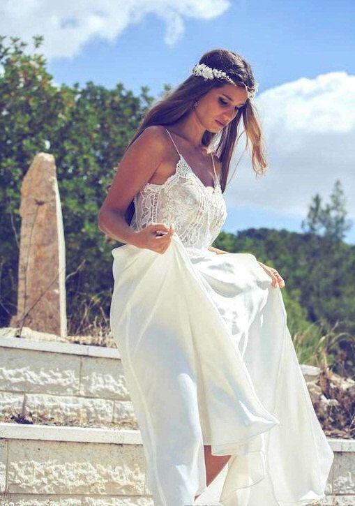 Island style wedding dresses flower girl dresses for Island wedding dresses