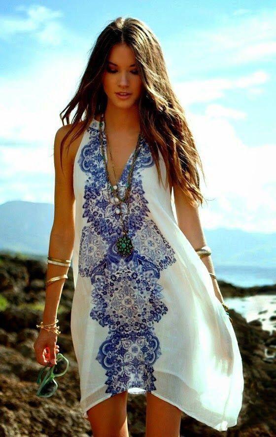 Τα υπέροχα ethnic φορέματα του καλοκαιριού - dona.gr 6aa4a15b0e0