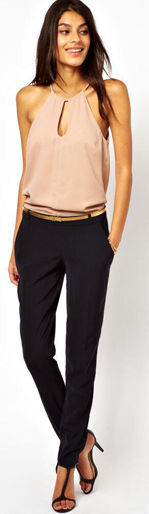 34975a75e40 Outfit με παντελόνι για να πας σε γάμο - dona.gr