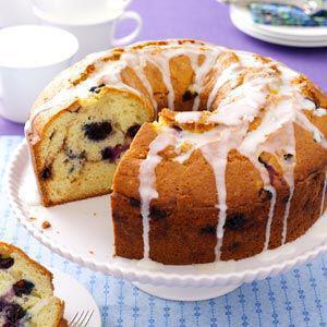 telio keik me krema ke blueberries - Τέλειο κέικ με κρέμα και blueberries