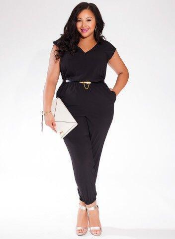 5 telia mavra jumpsuits gia koritsia me peritta kila2 - 5 τέλεια μαύρα jumpsuits για κορίτσια με περιττά κιλά