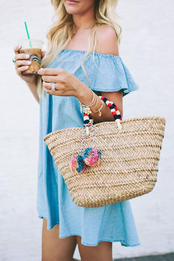 5 tropi na foresis tzin forema to kalokeri 2 - 5 τρόποι να φορέσεις τζιν φόρεμα το καλοκαίρι