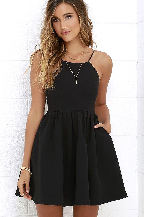 ... πώς θα φορέσεις το μαύρο φόρεμα το καλοκαίρι.  pos-na-foresis-to-mavro-forema-to-kalokeri 996b9678e47