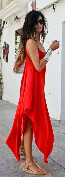 5 aerina kokkina foremata gia telio stil 3 - 5 αέρινα κόκκινα φορέματα για τέλειο στιλ