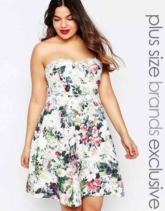 5 floral foremata gia ginekes me kampiles 1 - 5 floral φορέματα για γυναίκες με καμπύλες