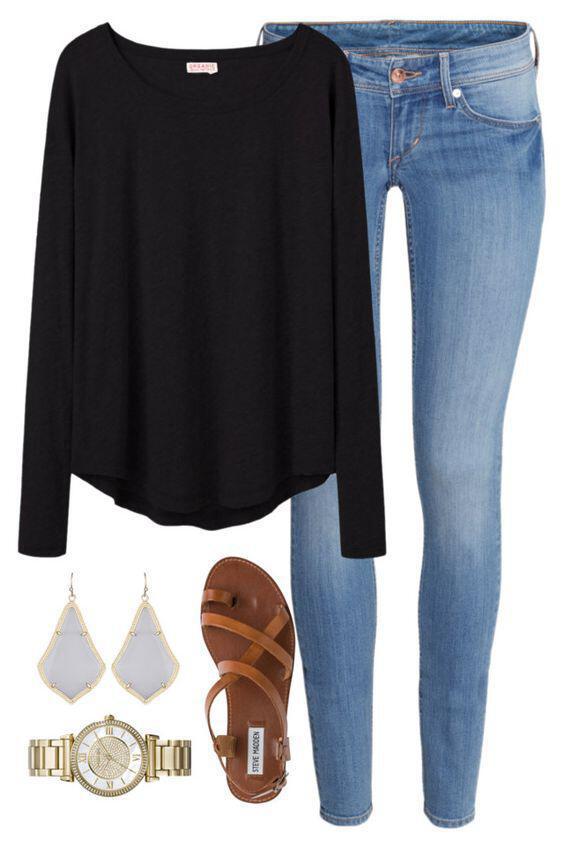 5 kalokerina kathimerina outfits me sandalia 2 - 5 καλοκαιρινά καθημερινά outfits με σανδάλια