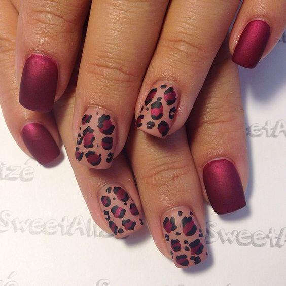 telia animal print nichia gia to fthinoporo - Τέλεια animal print νύχια για το φθινόπωρο