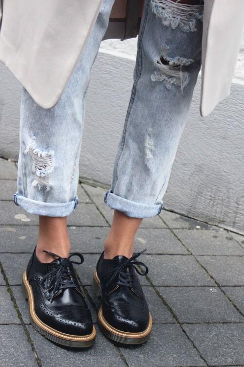 pos tha ntithis stilata me oxfords papoutsia 8 - Πώς θα ντυθείς στιλάτα με oxfords παπούτσια